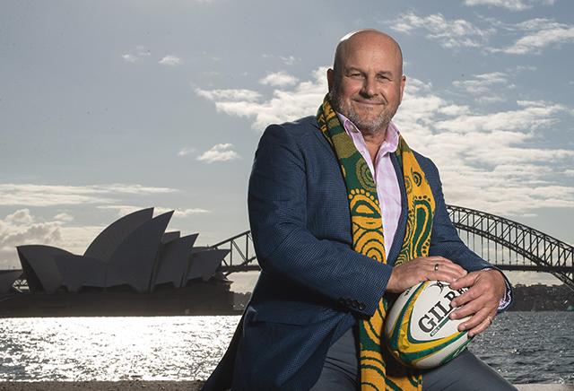 Rugby AU CEO, Rob Clarke